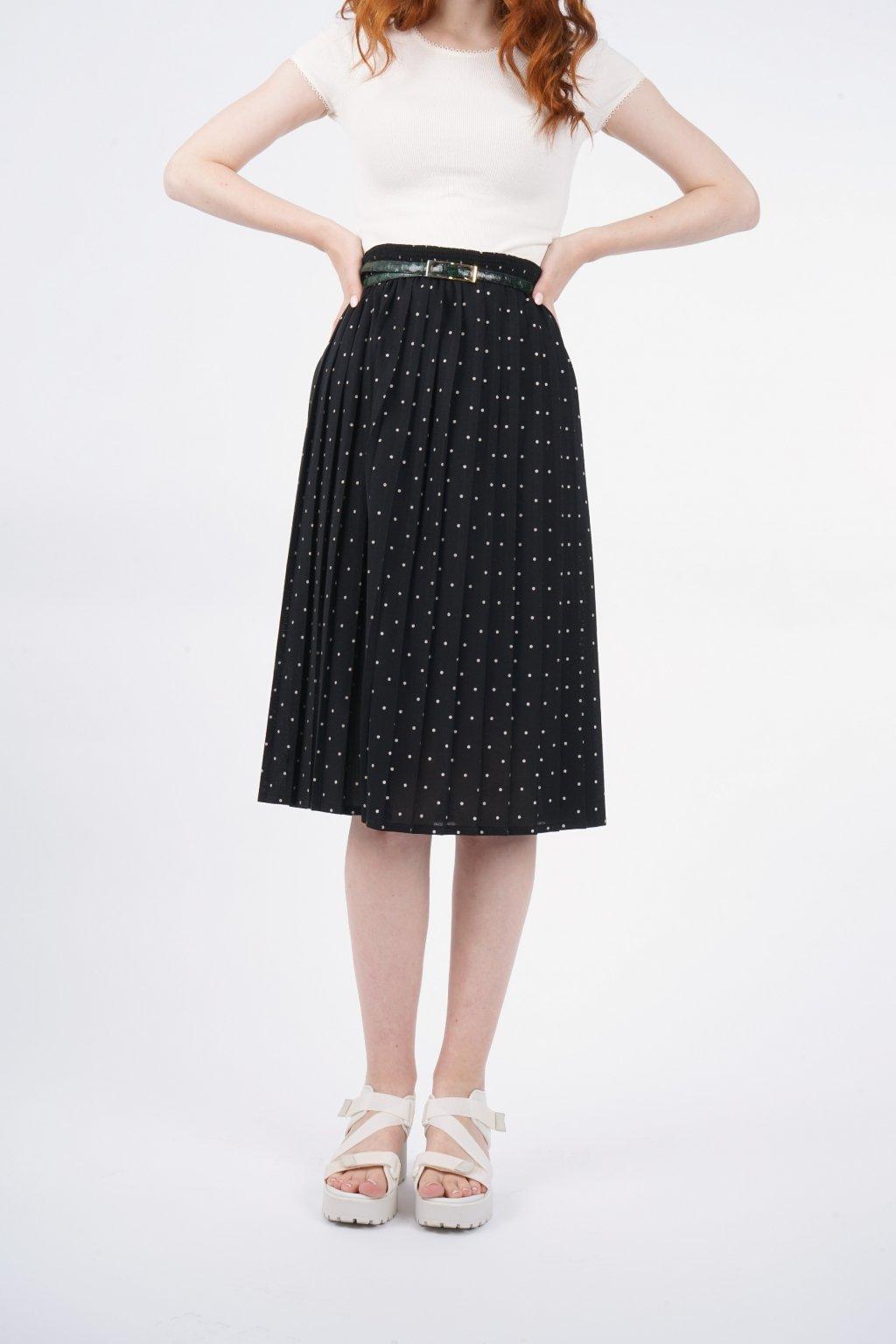 puntíkatá sukně