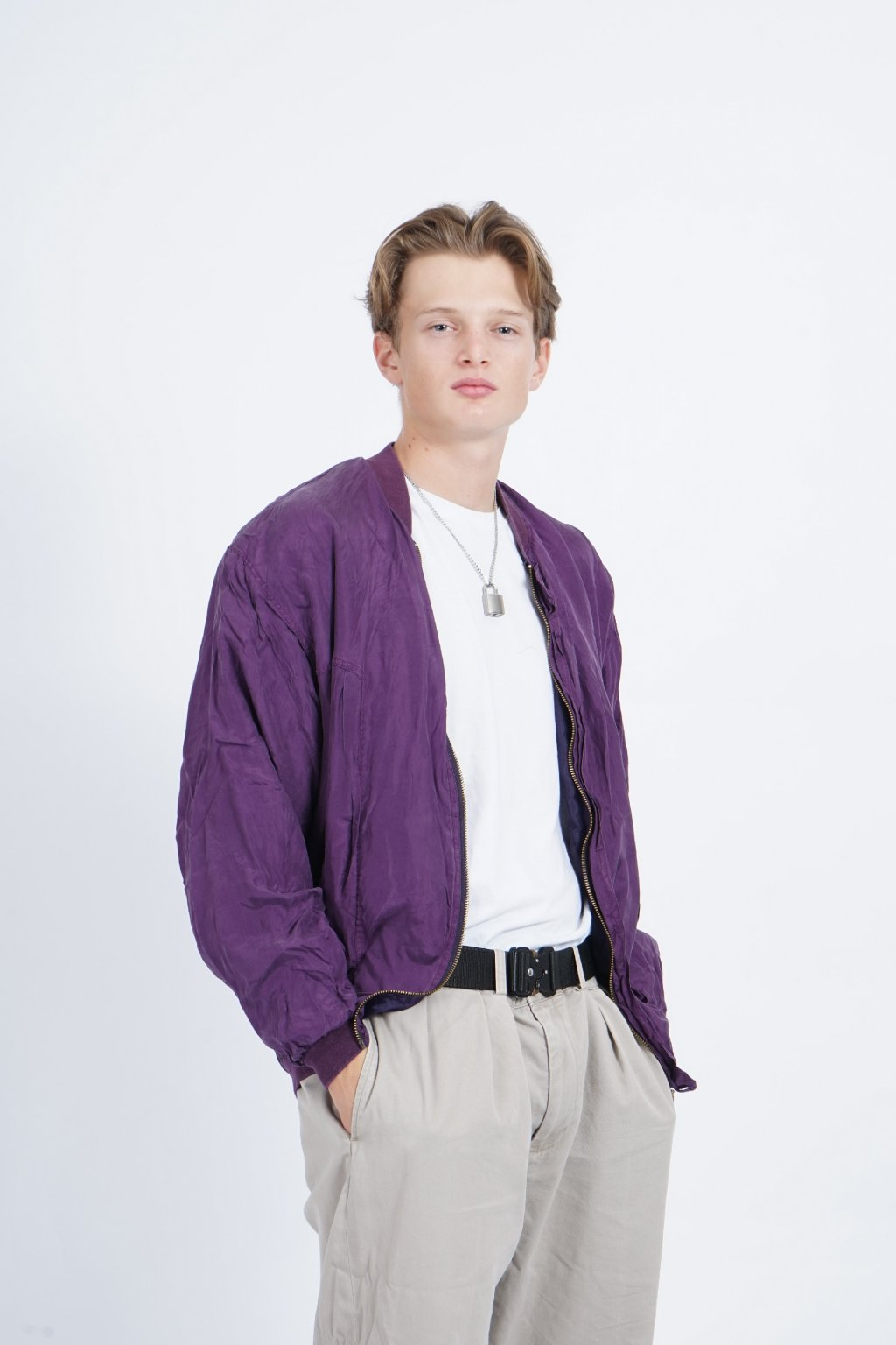 purple bomber/windbreaker