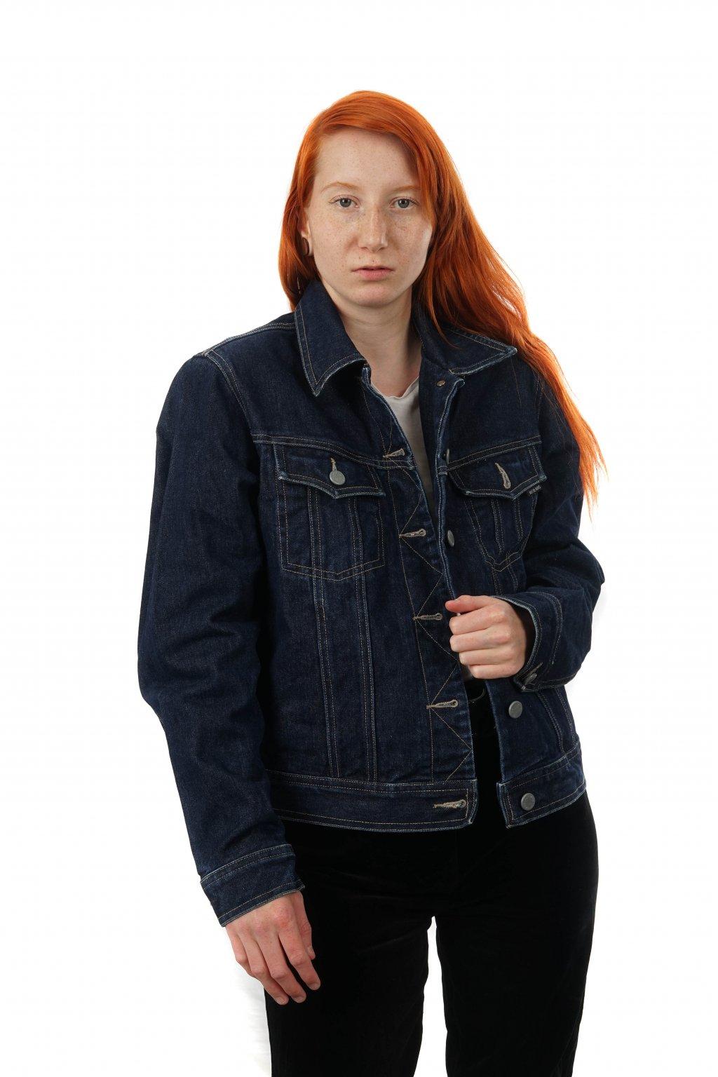 Tmavě modrá džíska